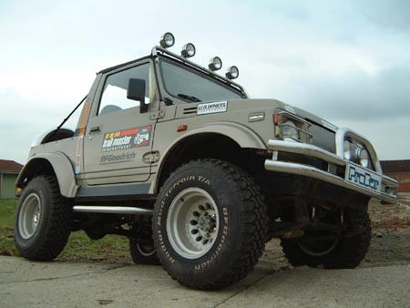 Suzuki Mwith Lightbar